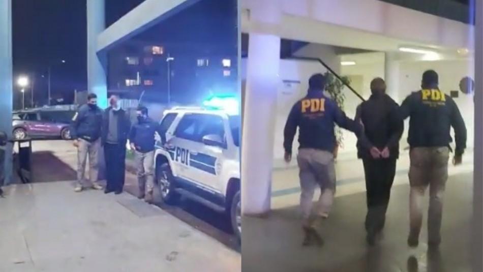 Ciudadano ucraniano es detenido en Talcahuano.