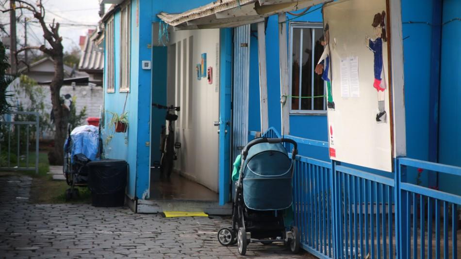 Jardín Infantil clandestino en Maipú.