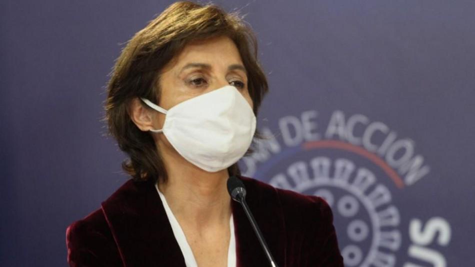 Paula Daza y aplicación de tests de saliva: