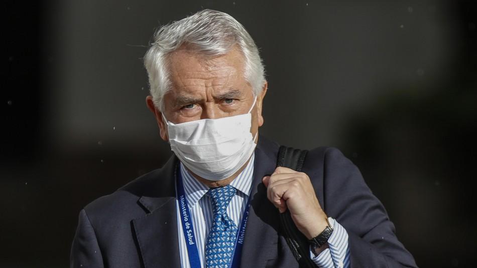 Enrique Paris por funeral de Bernardino Piñera: