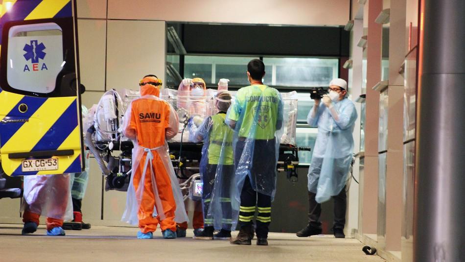 Balance del Minsal: Se superan las 5.500 muertes y 270.000 casos de contagios por coronavirus en Chile