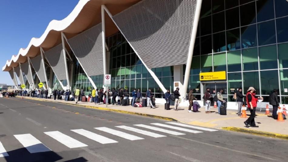 Codelco decide dejar de utilizar aeropuerto