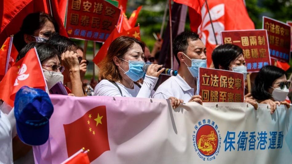 Hong Kong aprueba ley de seguridad nacional para reprimir a opositores políticos