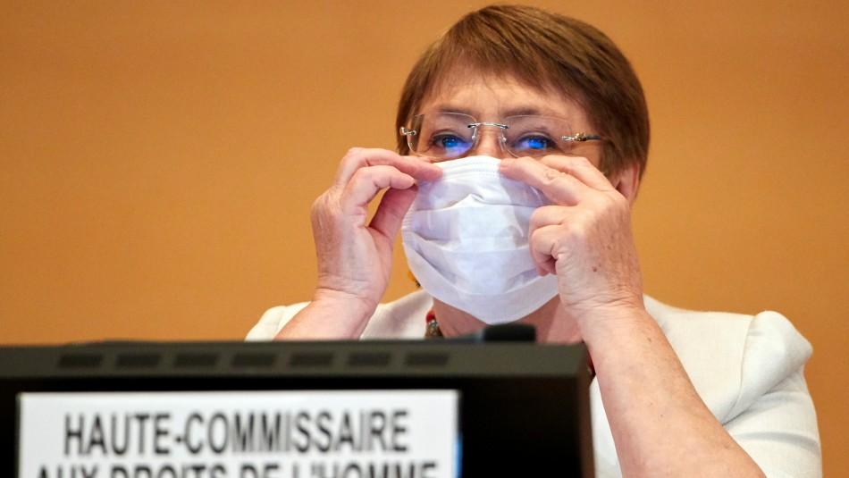 Bachelet critica a China, Rusia y EEUU por su respuesta a la pandemia
