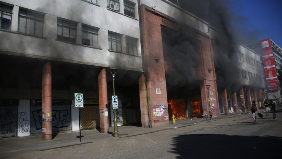 Decretan prisión preventiva para segundo acusado de incendio en Gobernación de Concepción