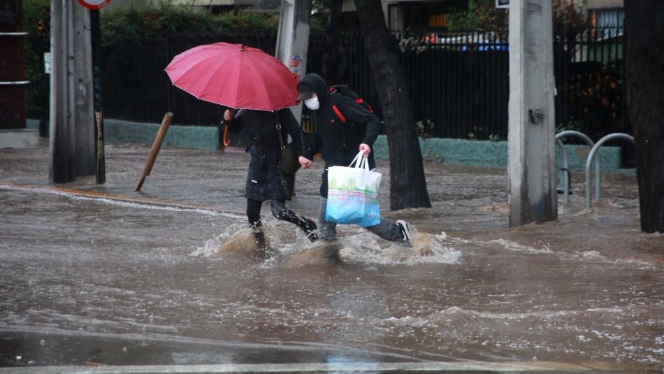 Meteorología anuncia precipitaciones para Santiago en la madrugada y mañana de este miércoles