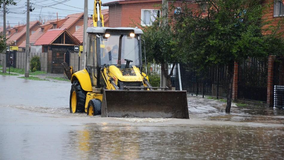 Sistema frontal deja en el país más de 1.400 viviendas afectadas y 73 damnificados