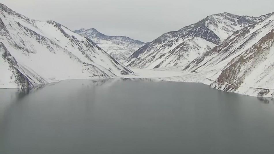 Embalse El Yeso se recupera tras lluvias y nevazones aunque ministro advierte que estamos