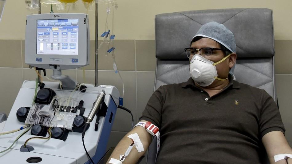 Región de Bolivia suministra desinfectante a pacientes con coronavirus pese a advertencias