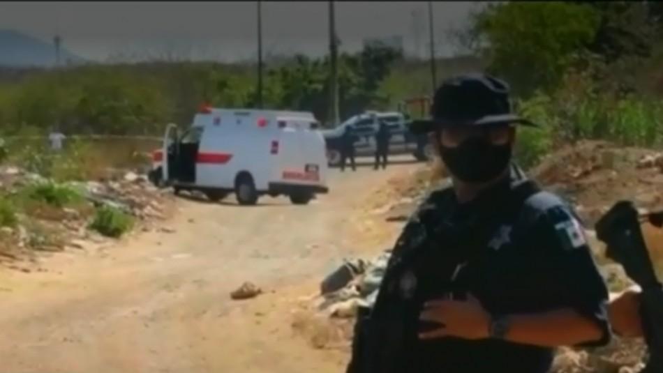 Chileno asesinado en México: Fue encontrado al interior de una maleta abandonada en un basural