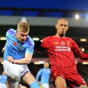 Sigue el partido del Manchester City de Claudio Bravo que desafía al campeón Liverpool