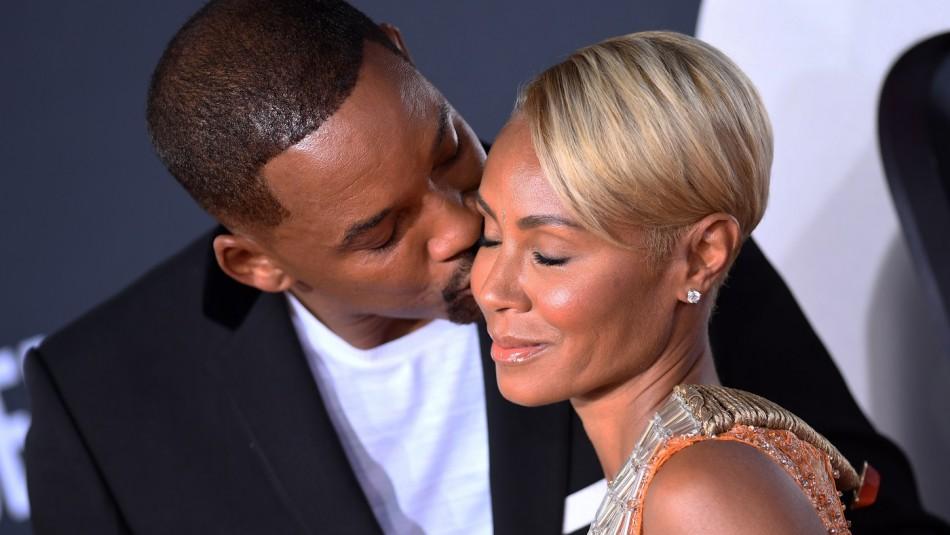Will Smith y su esposa en la mira.