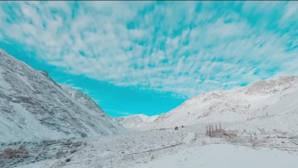 Videos muestran impresionantes imágenes del Valle de Elqui nevado
