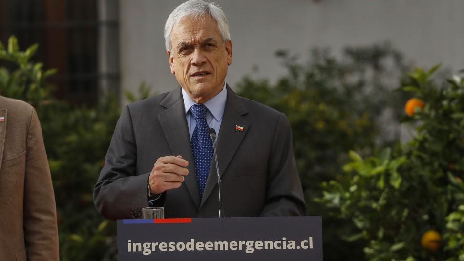 Ingreso Familiar de Emergencia: Presidente Piñera anuncia pago a nuevos beneficiarios