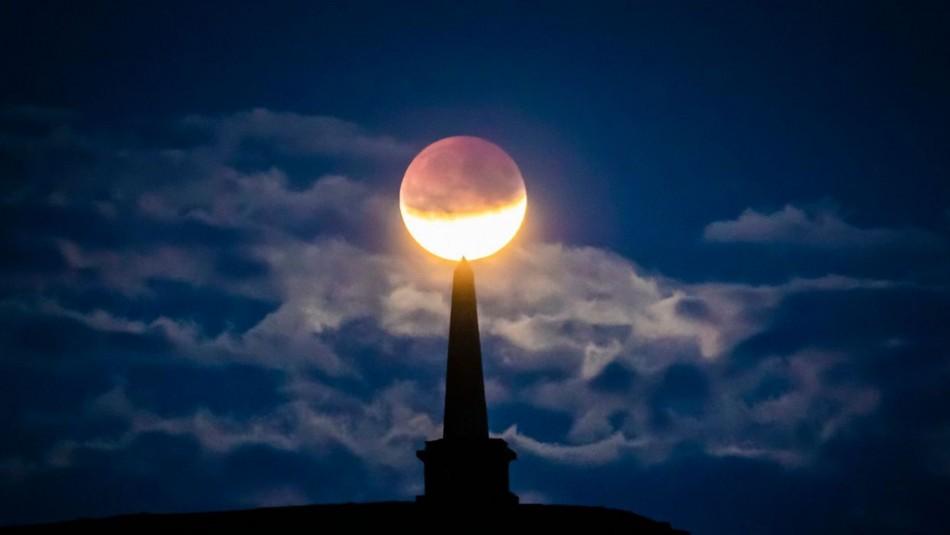 Eclipse Lunar penumbral de este 5 de julio.