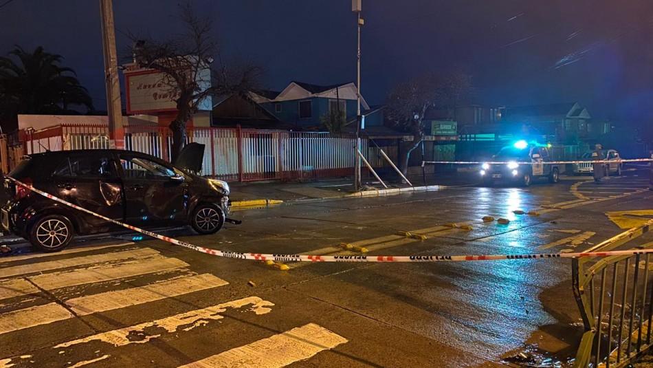 Pelea en Maipú termina con un fallecido tras ser atropellado