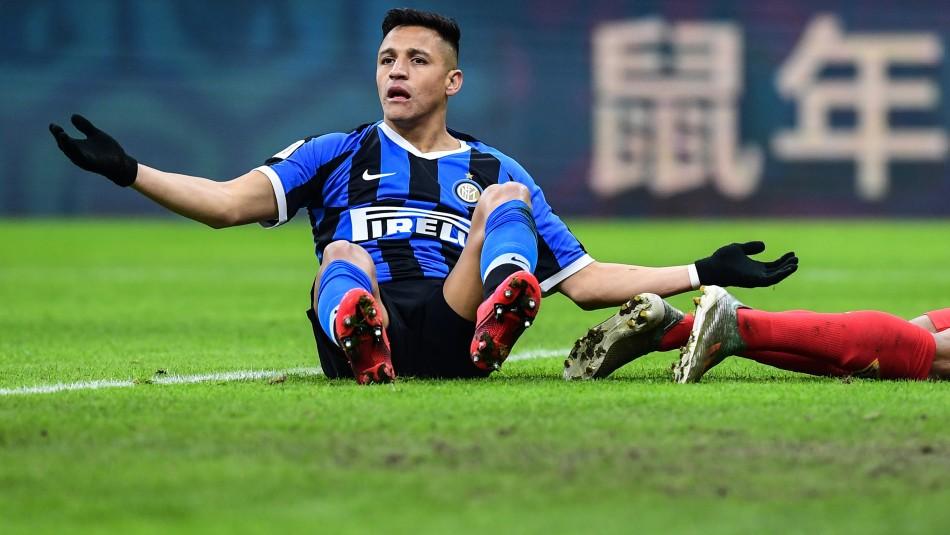 A Alexis Sánchez lo dan fuera del Inter.