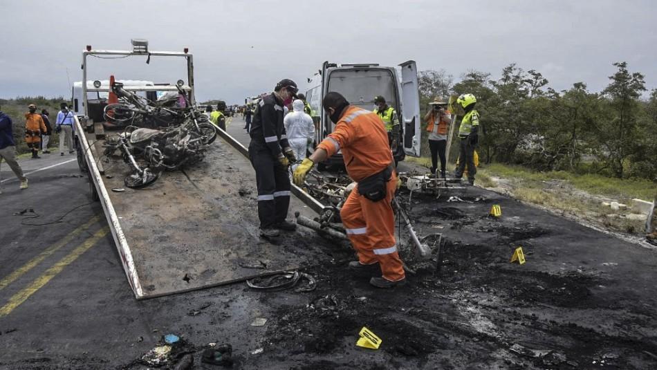 Camión con gasolina explota y deja al menos siete muertos y 46 heridos con graves quemaduras