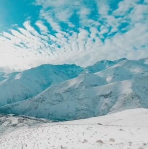 Milagro del Elqui: Histórica nevazón en el desierto nortino