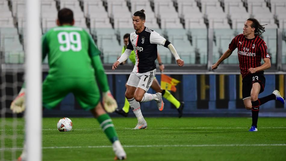 Cristiano Ronaldo busca nuevo triunfo con la Juventus.