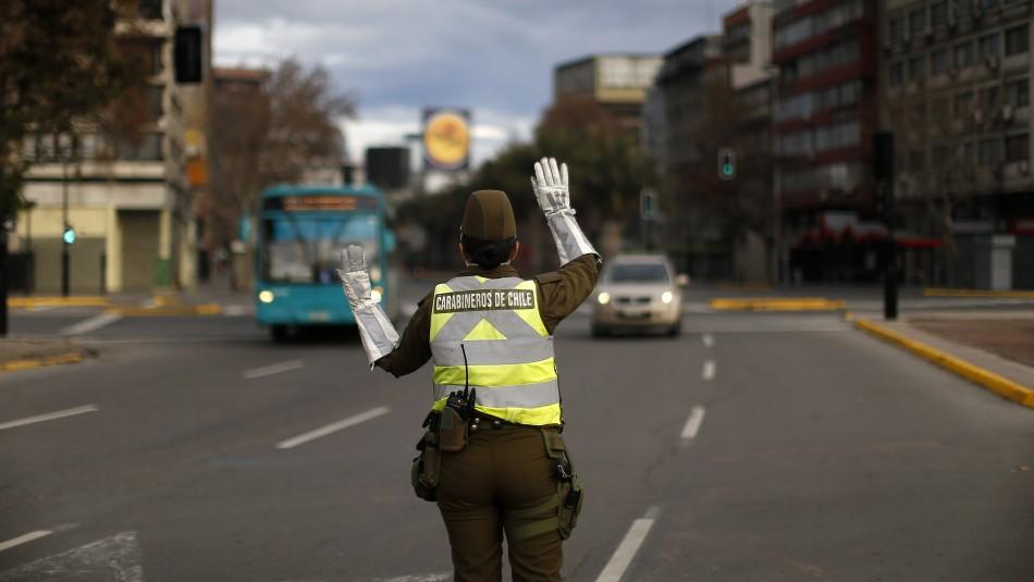 Regiones Metropolitana y de Valparaíso concentran el 51% de detenciones en pandemia