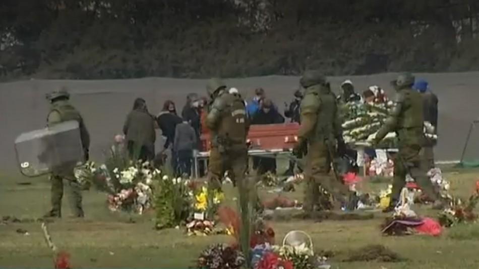 Funeral de joven que murió atropellado en riña en Maipú.