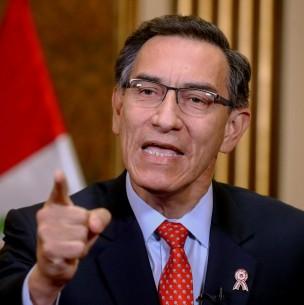Martín Vizcarra convoca a elecciones en Perú para abril de 2021: