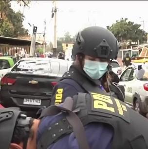 Desbaratan a banda especializada en robo de camiones tras funeral de alto riesgo en Renca