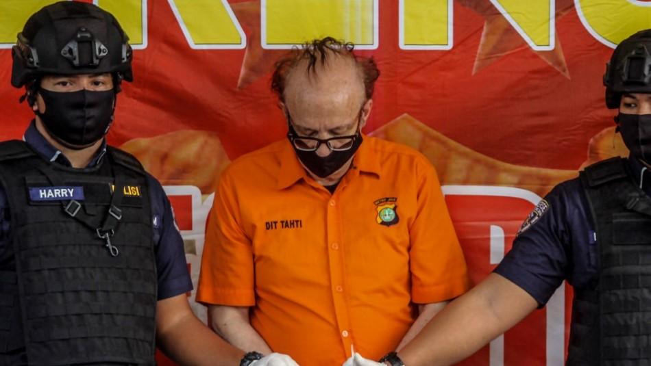 Francés acusado de abusar de 300 menores podría ser condenado a muerte en Indonesia