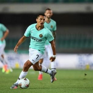 Sigue el partido de Hellas Verona ante Inter de Milán en Italia ¡Alexis Sánchez titular!