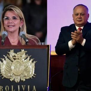 Coronavirus: Presidenta de Bolivia y diputado cercano a Nicolás Maduro están contagiados