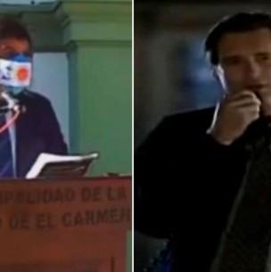 Autoridad argentina copia discurso de película