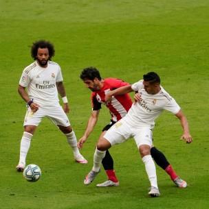 Sigue el partido del Real Madrid que defiende el liderato ante Alavés en la Liga Española