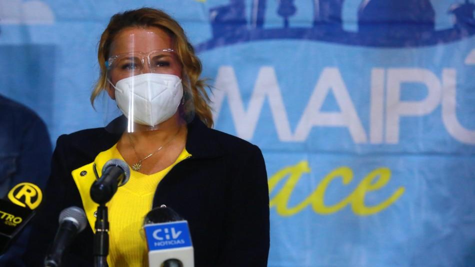 Alcaldesa de Maipú anuncia