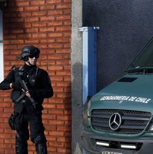 Gendarmería incauta 8 balas desde el interior de un Centro Penitenciario