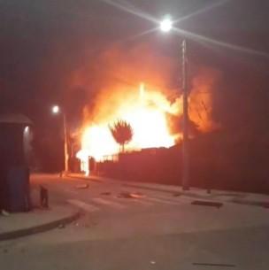 Un fallecido y personas heridas deja balacera que provocó incendios en San Felipe