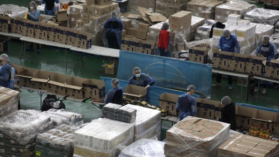 Gobierno anuncia segunda entrega de cajas de alimentos: Se repartirán 3 millones de unidades en el país