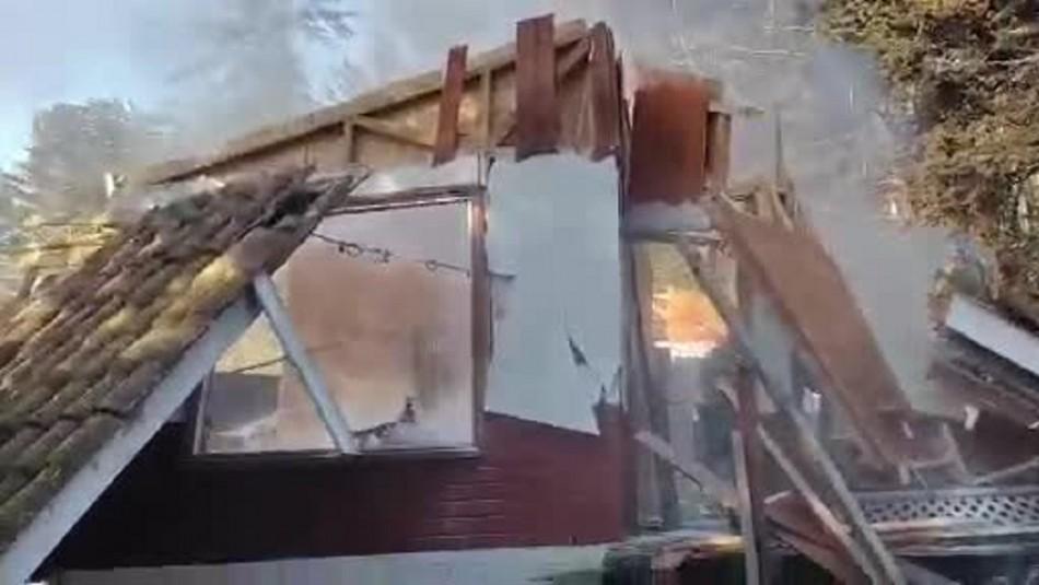 Gran explosión se registra en cabañas de Cartagena