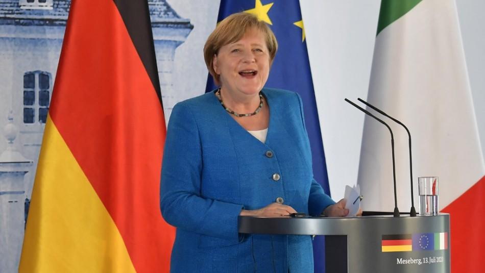 Merkel duda que se llegue a acuerdo sobre plan de recuperación de la Unión Europea