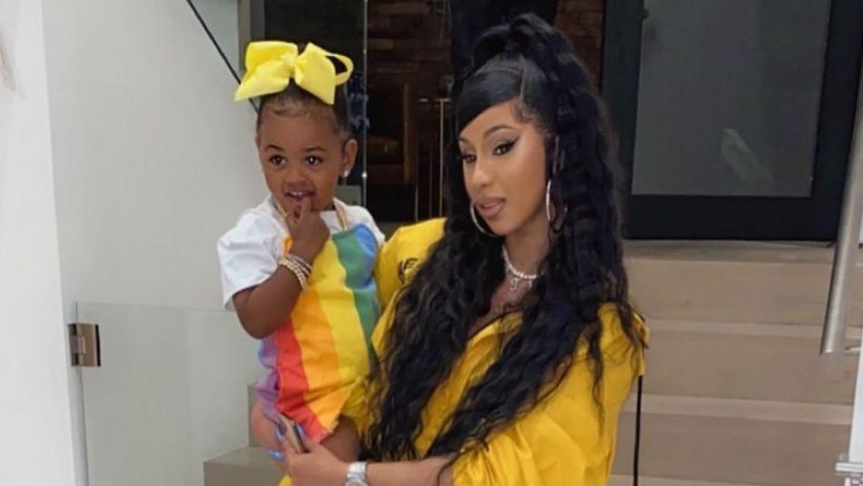 Las fotos de la extravagante fiesta de la hija de Cardi B: La rapera hasta bailó merengue