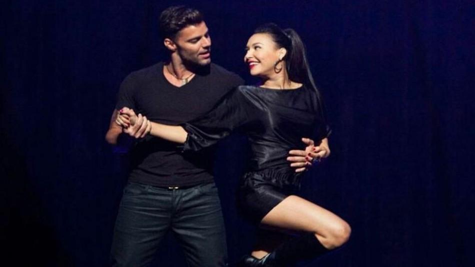 Ricky Martin recuerda el momento cuando cantó y bailó con Naya Rivera en Glee: