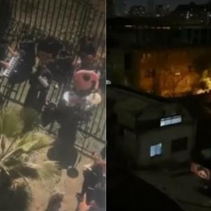 Vecinos de Ñuñoa denuncian fiesta a plena luz del día con banda en vivo