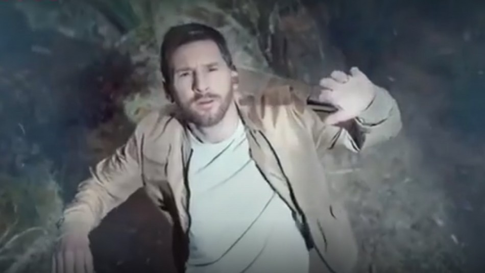 Lionel Messi es secuestrado por extraterrestres.