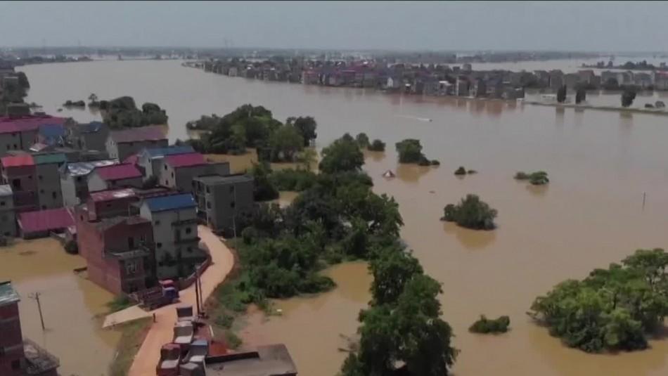 Impactantes imágenes de las peores inundaciones en China en dos décadas