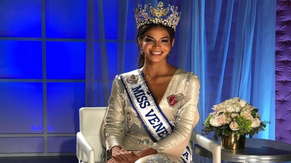 Nuevo escándalo en el Miss Venezuela: La actual reina denuncia que