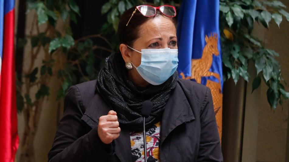 Diputada Sepúlveda y denuncia contra Schalper:
