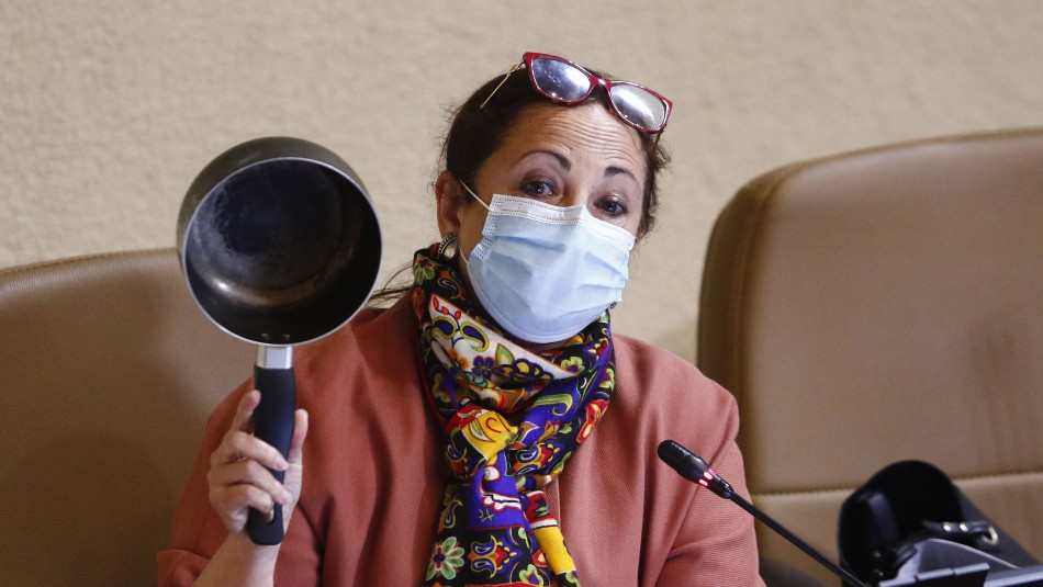 Diputada Alejandra Sepúlveda caceroleó durante su intervención por proyecto sobre AFP