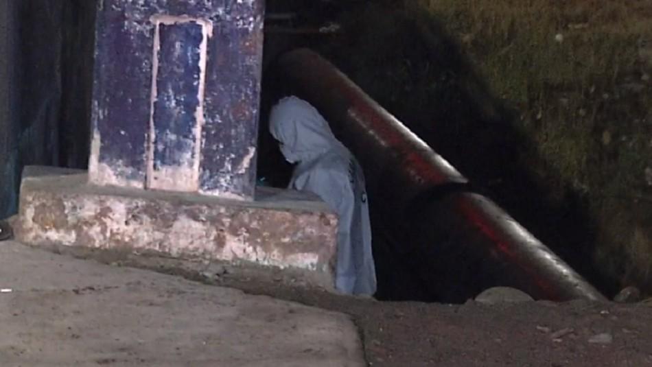 Mujer en situación de calle es encontrada sin vida tras incendio en San Bernardo