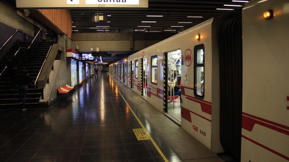 Metro de Santiago ante eventual desconfinamiento: