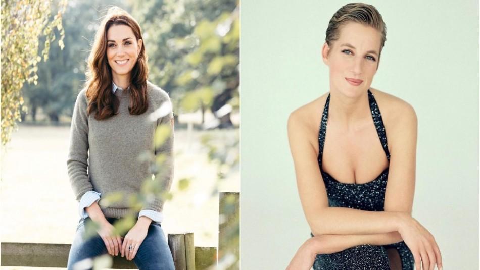 Kate Middleton entre las cinco mujeres